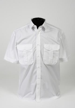 uniformshirt wit korte mouw - knooplus_321_460_100
